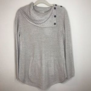 Style&co button detail sweater